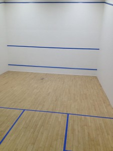 Renovated Squash Court