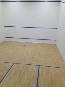 Renovated Squash Court